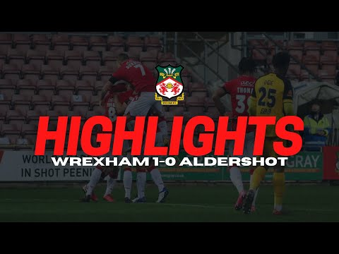 Wrexham Aldershot Goals And Highlights