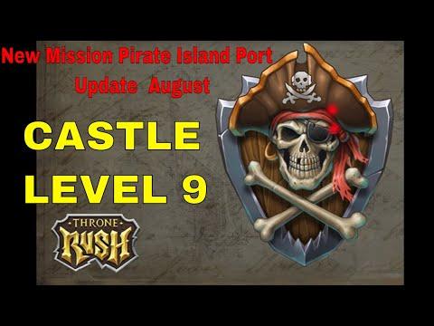Throne Rush :  Pirate Island Port Dark.country BobaH And +HAYK