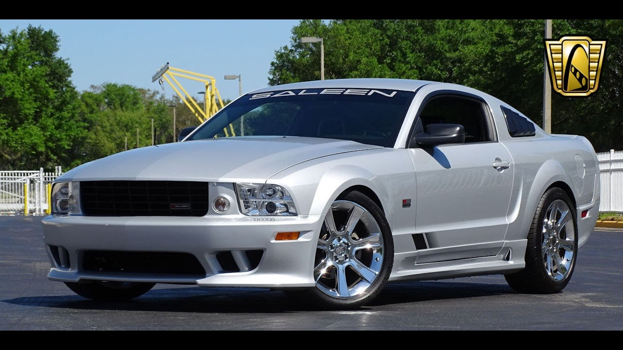 2005 Ford Mustang Gt Saleen Gateway Orlando 774 Youtube