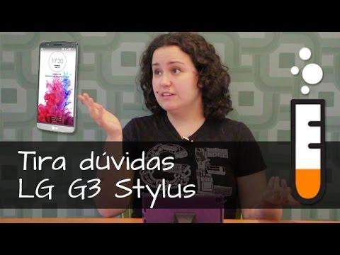G3 Stylus LG D690 Smartphone - Vídeo Perguntas e Respostas Brasil