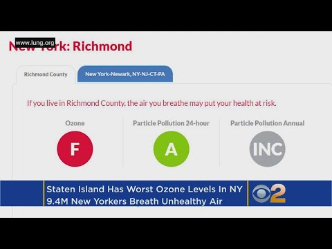 Worst Air Quality In NY Found On Staten Island