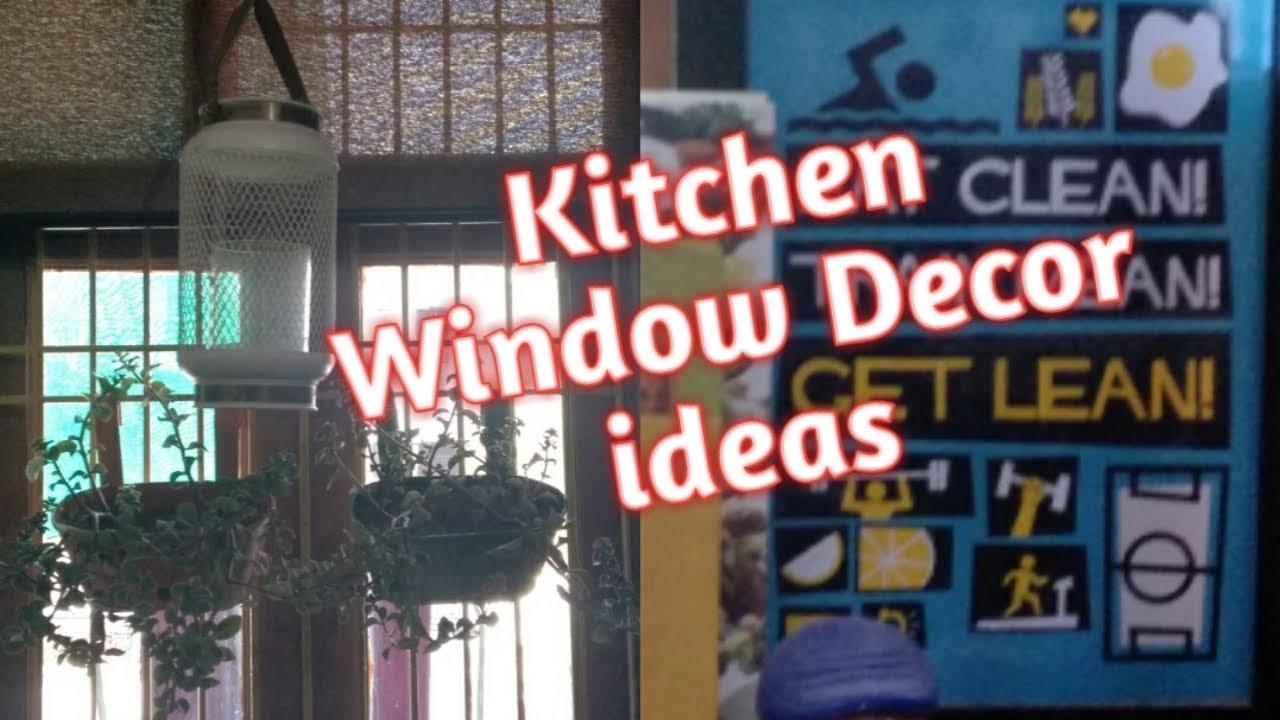 How to Decor Kitchen Window | Kitchen Window Decoration Ideas  #Kitchenwindowdecor