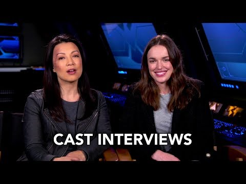Marvel's Agents of SHIELD 100th Episode Cast Interviews (HD)