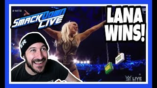 😲 Reaction   Lana Qualifies For Womens Money In The Bank 2018   WWE Smackdown Live May 22