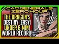 [World Record] C&C Generals Zero Hour: The Dragons Destiny [Easy]