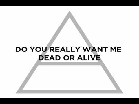Thirty Seconds to Mars  Hurricane  Lyric