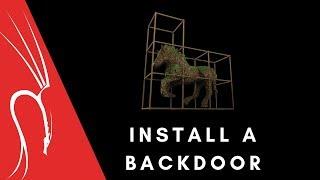 Install a Backdoor