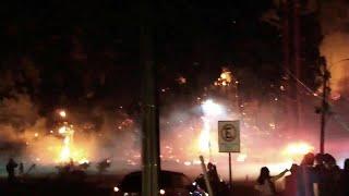 شاهد: عشرات الحرائق تلتهم عدة مناطق جنوب تشيلي