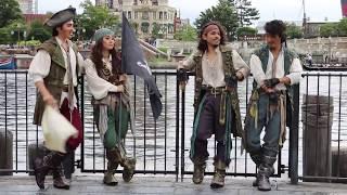 人気の4人組の海賊体操!見所ありすぎ(°_°) 個人的に永久保存版です!