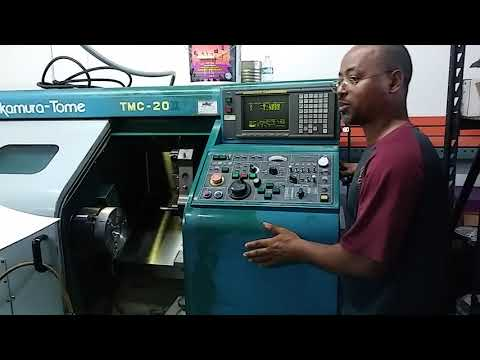 Training on how to operate the CNC machine and basic instruction on each button's functionality