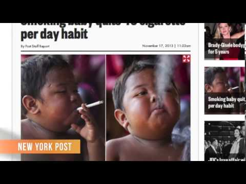 chain-smoking-toddler,-kicked-the-habit,-but-addicted-to-junk-food