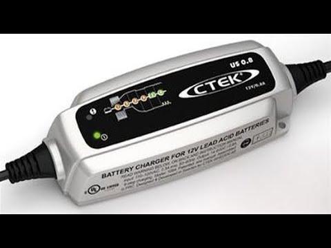 CTEK US 0.8 Automatic 6 Step Trickle Charger 56-865  -  Unboxing