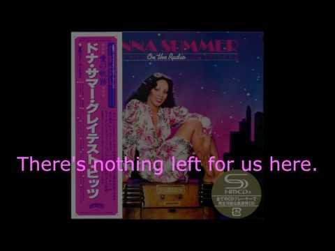 "Donna Summer - No More Tears (GH Mixdown) LYRICS SHM ""On the Radio: Greatest Hits I & II"""