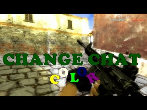 Counter Strike 1.6 Change Chat Color