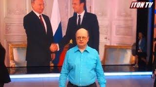 Как снимают политические ток-шоу  на российских каналах