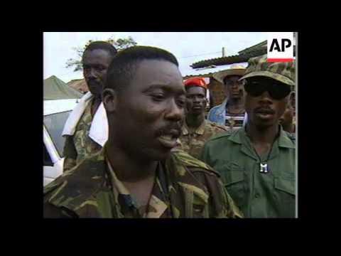 SIERRE LEONE: FREETOWN: TOUGH MEASURES TAKEN AGAINST LOOTERS