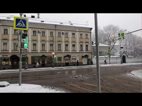 Москва. Прогулка  по Сретенскому переулку
