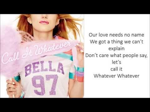 Bella Thorne - Call It Whatever (Lyrics)