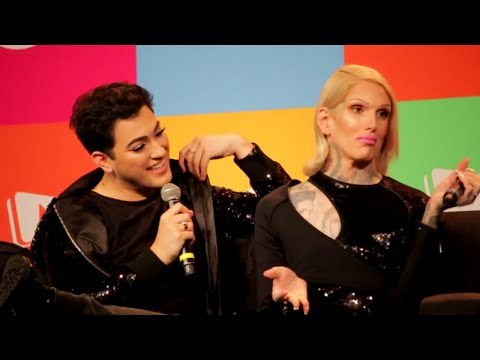 Interview with Manny Mua and Jeffree Star Cosmetics VidCon2017 Announcing New Cosmetics