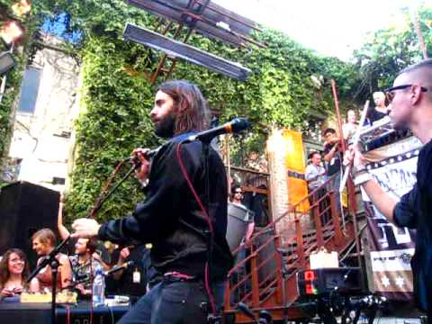 Miike Snow - Black & Blue @ Filter Magazine SXSW 2010 Day Party Live