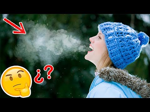 ¿Porque sale Humo de la Boca cuando hace Frio? | 7 Cosas que no sabias