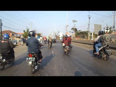 Travel tour to genuk on kota semarang City.  Perjalanan blusukan sore tour motor. Travel vlog.