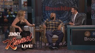 Amy Schumer Donated 50K to Ride Jet-Ski with DJ Khaled
