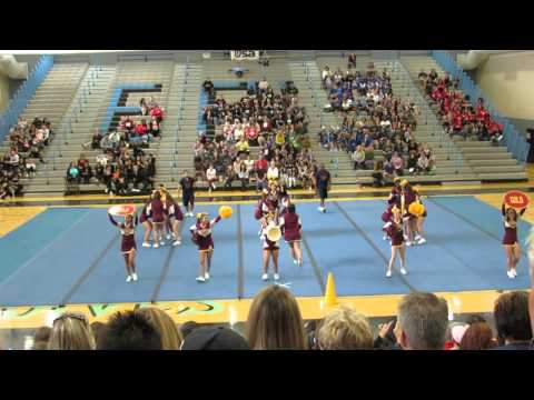 Tolleson Union High School Wolverine Spiritline USA Regionals 2015