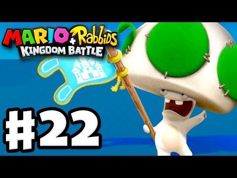 Mario + Rabbids Kingdom Battle - Gameplay Walkthrough Part 22 - World 1 100%! All Challenges!