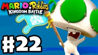 Mario + Rabbids Kingdom Battle - Gameplay Walkthrough Part 22 - World 1 100%! All Challenges!