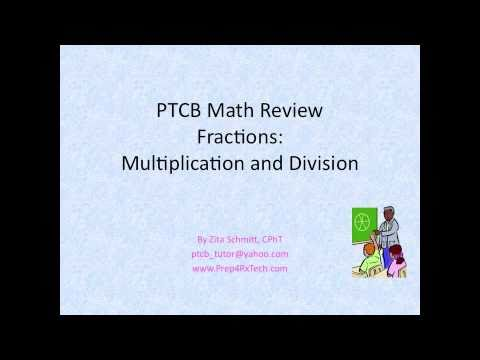 math for pharmacy technicians pdf