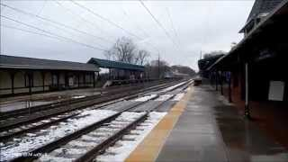 AMTRAK P42 #92 on Pennsylvanian Train #43 to Pittsburgh 11/30/14
