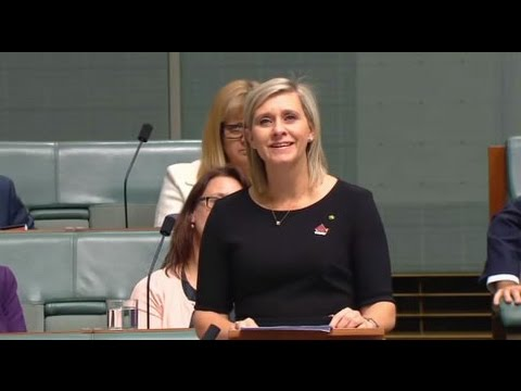 'Queensland never, ever gives up': Tearful first speech by Susan Lamb