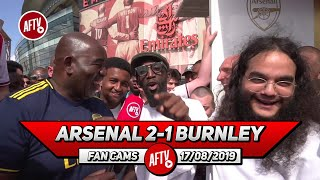 Arsenal 2-1 Burnley | Forget The Loan We Have To Buy Ceballos! (Specs Gonzalez & Alhan - Gasworks)