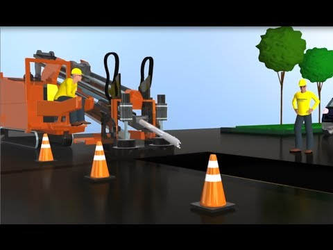 Horizontal Directional Drilling Installation Animation