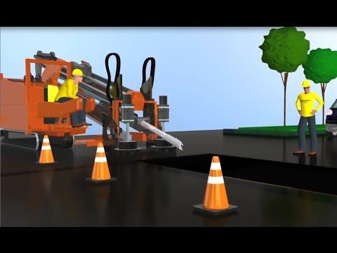 Horizontal Directional Drilling Installation Animation