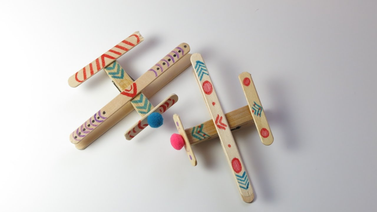 Christmas Kids Crafts With Clothes Pins