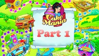 Cake Mania - Gameplay Part 1 (Jan to Mar) Home Kitchen