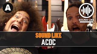 Banka yanmadan AC/DC Gibi ses -