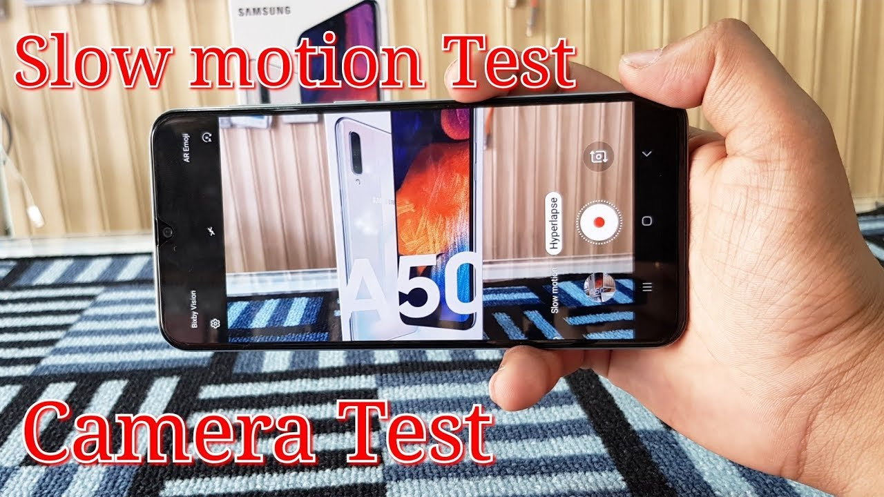 Samsung Galaxy A50 Slow Motion Features