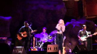 Emily Kinney performing for the first time Live 'Struggling Man', Jimmy Cliff cover.
