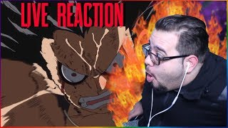SNAKE-MAN!! DID GOD ANIMATE THIS?! - ONE PIECE EPISODE 870 ANIME LIVE REACTION!!!