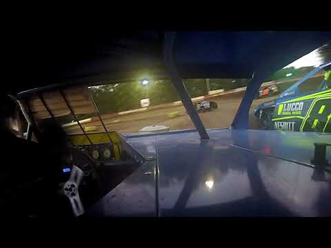 IN Car Cam of Marty Smith Jr. at  Highland Speedway 7-27-19