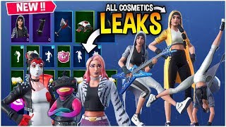 'NEW'Fortnite Toutes les fuites Skins 'Emotes v9.10 (Fishstick v2,Michael Jordan set ' Plus)