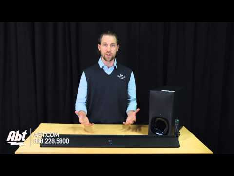 Sony 2.1 Channel Soundbar With Wireless Subwoofer HT-CT380 - Overview