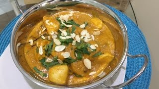 How To Make CHICKEN KORMA (British Indian Restaurant Style) - Al