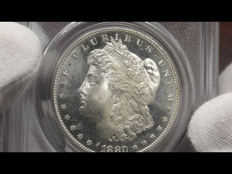 1881-S, 1880-S Morgan Dollars MS64, NGC And PCGS - Coin Showcase