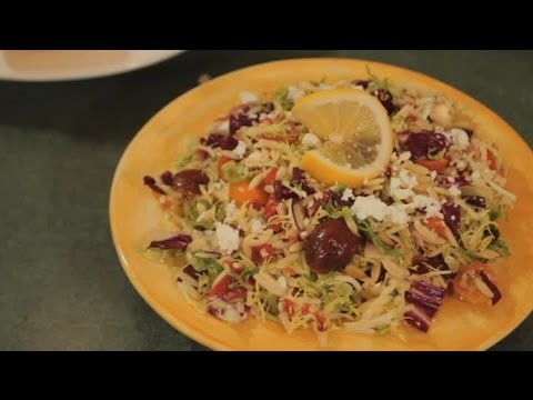 Orzo Salad With Lemon, Feta & Pine Nuts : Gourmet Recipes