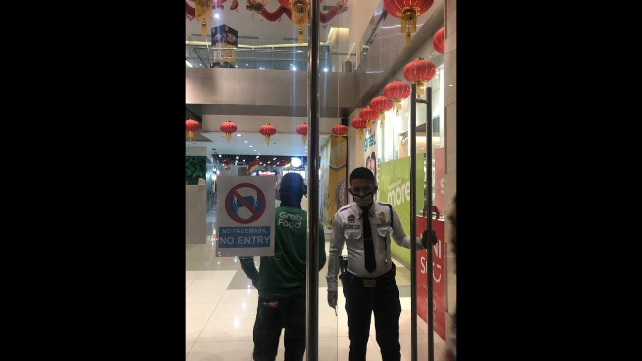 COVID-19 WATCH: No mask, no entry police not among the guidelines under the ECQ.