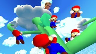 (FINALE) The Hardest Mario 64 Rom Hack Ever... ft. Nathaniel Bandy, TetraBitGaming, Charriii5